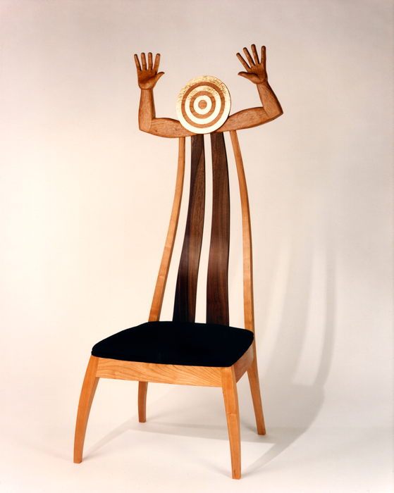 Sun's Hands, furniture by wood carver Paul Reiber