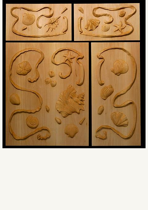 Shell-cabinet-doors-slide
